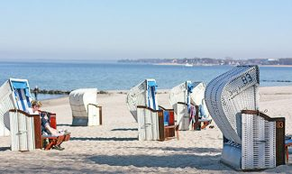 Die Strandkörbe sind wieder da! Einladung für Sonnenanbeter