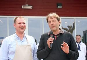 Engagieren sich für zufriedene Gäste: Investor Marcus Fey (re) und Betriebsleiter Maik Kiesewetter