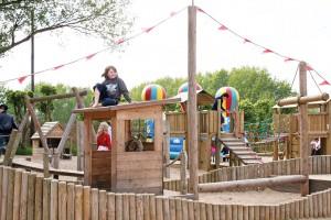 """Ein Paradies für die Kids: """"Kinderland"""" und Abenteuerspielplatz, Obstgarten und Kinderküche begeistern Kinder in jedem Alter"""