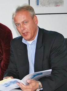 Christian Jaletzke zu Beginn seiner Amtszeit im Oktober 2005