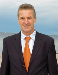 Timmendorfs Bürgermeister Volker Popp starb am 6. Juni im Alter von 61 Jahren.