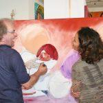 Live am Gemälde: Theo Broeren und Melina Nasse Meyer