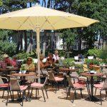 Beliebter Treffpunkt: Außenplätze an der Timmendorfer Promenade