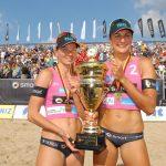 Glückliches Sieger-Team: Katrin Holtwick (li) und Ilks Semmler (Foto: S. Dittmann)