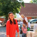 Sabine Reinhard, ihre Eltern und Geschwister empfingen rund 170 Gäste