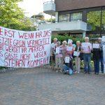 Scharfe Proteste der Niendorfer gegen die Umgestaltung des Wittern-Parks