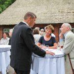 Leckere Häppchen, lockerer Klönschnack: Ein kleines Fest für Klingbergs Kulturfreunde