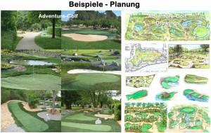 So sieht der Plan für eine Adventure-Golfanlage aus, die laut Investor so umweltverträglich wie möglich werden soll.