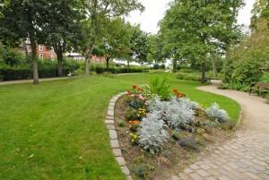 Die gepflegte Parkanlage wird von Einwohnern und Gästen geschätzt und genutzt.