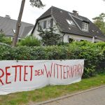 ...säumen die Strandstraße in Niendorf.