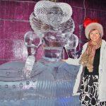 Ein Eisdrink mit der Eisprinzessin: Nadija in Karls Eisbar