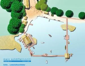 Leuchtturmprojekt in Hemmelsdorf: Fischereihof mit Fischrestaurant im See