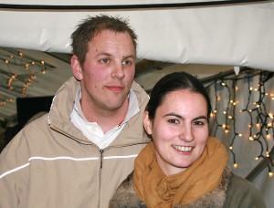 Sie gewinnen eine Reise nach New York: Julia Monroy und Kai Huckfeldt aus Heiligenhafen.