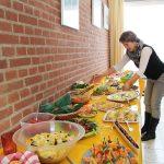 Das Highlight war wieder ein hausgemachtes Buffet von Klingberger Hobbyköchen