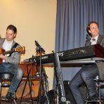 Jan Taken de Vries und Markus Rollwage stimmten das Publikum in Scharbeutz auf einen harmonischen Nachmittag ein.