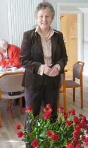 Schirmherrin Helga Schütt leitet den Seniorentreff seit dem ersten Tag. Jetzt feiert sie mit ihren Senioren das 30-jährige Jubiläum