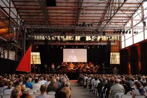 Die Niendorfer Evers Werft bietet den idealen Raum für diese Veranstaltung