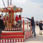 Kindervergnügen auf dem Niendorfer Balkon bei der Seebrücke
