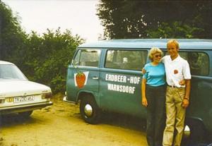 Das waren die Anfänge: Ehepaar Dahl im Jahre 1973