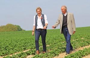 Ein erfolgreiches Team: Karl-Heinz Dahl und seine Tochter Ulrike