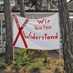 """""""Wir leisten Widerstand"""" versprechen die Bürger der betroffenen Regionen"""