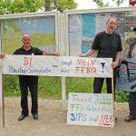 """Auch in Klingberg und Gronenberg hat sich mit der """"BIP"""" eine Bürgerinitiative gegründet, die sehr aktiv protestiert"""