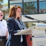 """""""... er hat seiner Gemeinde Vertrauen geschenkt"""", betonte Bürgermeisterin Hatice Kara in ihrer Erinnerung an Vorgänger Volker Popp"""