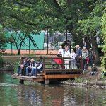 Schöne Anlage für alle Fans der Modell-Boote: hier kann man die ferngesteuerten Schiffe hinaussteuern