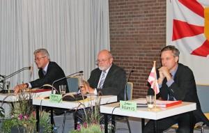 Neben verschiedenen Dorfschaftsthemen stand das Thema Hinterlandanbindung der Fehmarnbelt-Querung im Mittelpunkt