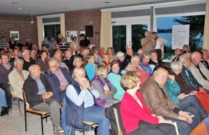 Großes Interesse für ein großes Thema: bis auf den letzten Platz besetzt war das Klingberger Haus des Gastes
