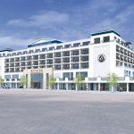 Frontseite des Hotel Bayside