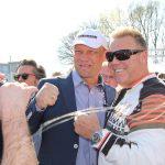 Ein Hit für die Fans: Handyfotos mit Axel Schulz