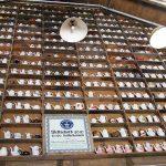 Überraschung im Eingangsbereich: die größte Kaffekannensammlung der Welt!