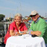 Sonnig, idyllisch schön: Wohlfühl-Atmosphäre auf dem Hafen-Gelände