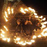 Highlight Dünenmeile-Flammenshow