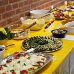 Dieses Buffet ist Kult: Es stammt aus den Kreativ-Küchen der Klingberger