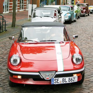 Der Alfa Romeo Spider war das elegant geschwungene Traumauto einer ganzen Generation