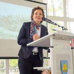 """Bürgermeisterin Hatice Kara begrüßte zahlreiche Gäste zum Festakt """"150 Jahre Timmendorfer Strand"""" in der Trinkkurhalle"""