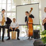 Die OGT-Combo sorgte mit softem Jazz für einen angenehmen musikalischen Rahmen