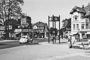 Typisch Timmendorf: Timmendorfer Platz in den 70er Jahren