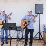 Musik zum Auftakt im Hafen-Informationszentrum