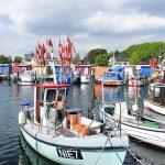 Schönstes Fotomotiv der Region: bunte Fischkutter