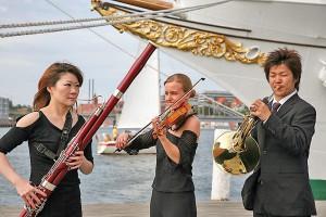 Musik in maritimer Atmosphäre: Internationale Künstler spielen insgesamt 178 Konzerte in Schleswig-Holstein, Hamburg und im Süden Dänemarks (Foto: Axel Nickolaus)