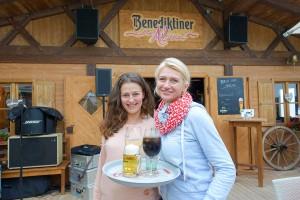 Letzte Tage in der Beach Alm: Johanna Freda (re) und Nadja Fischer