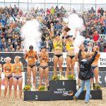 Furiose Feier bei der Preisverleihung in der Ahmann-Hager-Arena