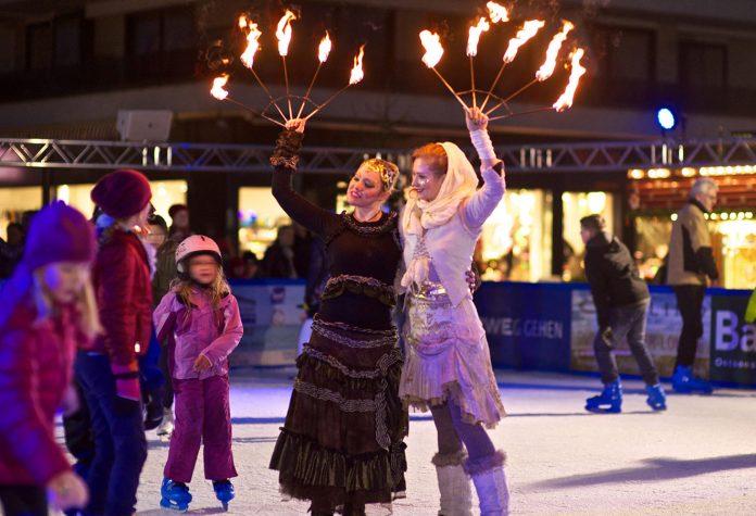 """""""Ice, Ice, Baby!"""" - Auf der Scharbeutzer Dünenmeile können Sie jetzt Schlittschuh laufen oder Eisstock schießen - bis zum 14. Februar"""