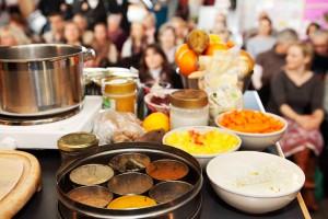 Showkochen in der Ayurvedischen Küche