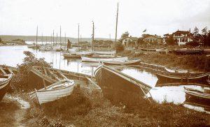 Niendorfer Hafen um 1928