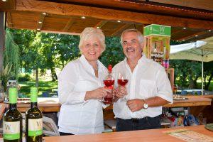 Frischer Sommer-Rosé vom Weingut Waller (Foto: Katrin Gehrke)