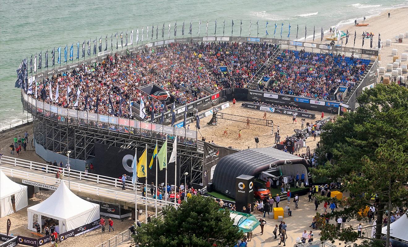Timmendorfer Strand Beachvolleyball